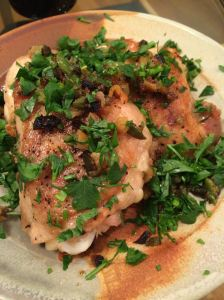 crispy-skinned chicken thighs without a greasy stovetop
